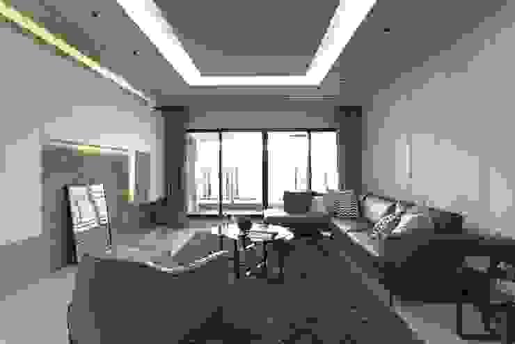 غرفة المعيشة تنفيذ 大晴設計有限公司, حداثي