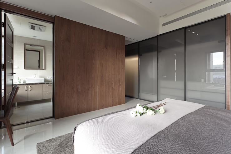 Modern style bedroom by 大晴設計有限公司 Modern
