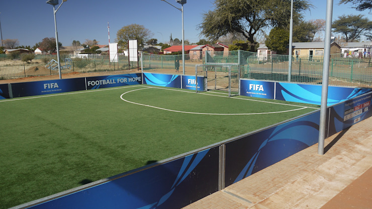 Football for Hope Lovelife Y-Centre by Truspace Modern