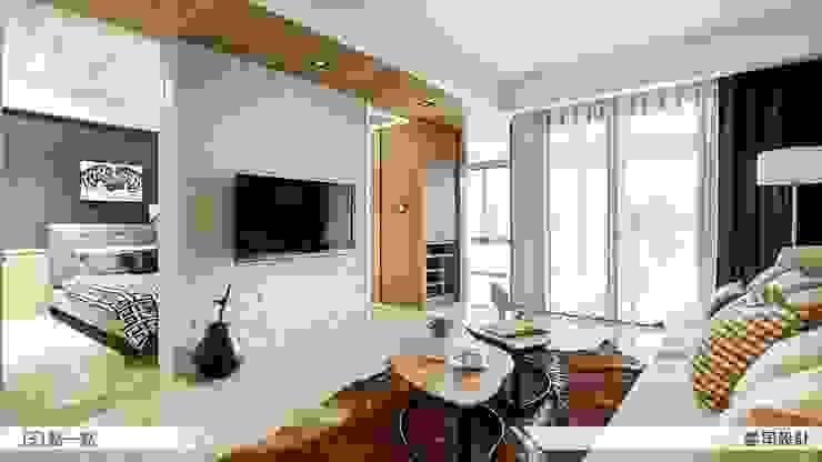 Ruang Keluarga oleh iDiD點一點設計