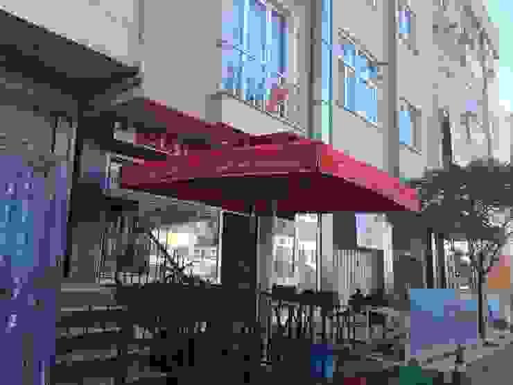 3 x 3 cafe önü şemsiye Akaydın şemsiye Endüstriyel Aluminyum/Çinko