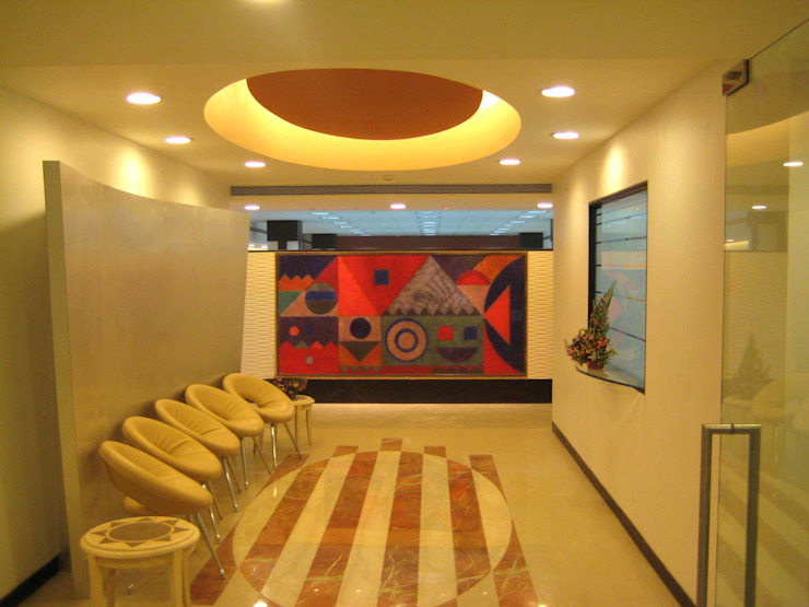 RBI OFFICE Modern offices & stores by Sudhir Diwan and Associate Modern Plywood