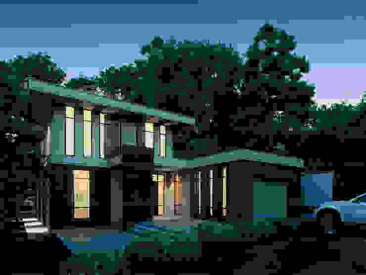 Марино хаус / Marino house Дома в скандинавском стиле от BOOS architects Скандинавский Кирпичи