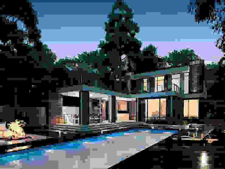 Марино хаус / Marino house BOOS architects Дома в скандинавском стиле