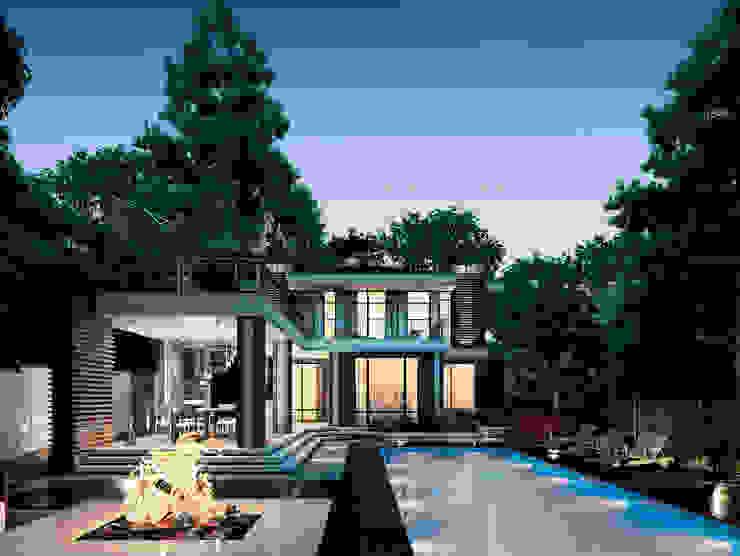 Марино хаус / Marino house Дома в скандинавском стиле от BOOS architects Скандинавский