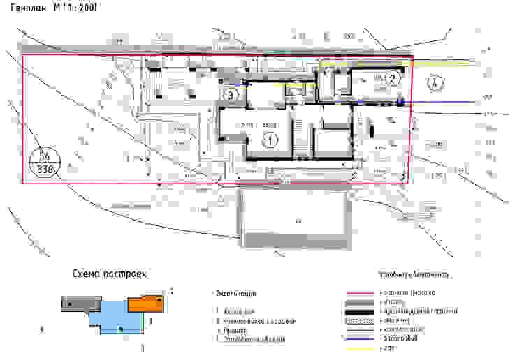 Марино хаус / Marino house от BOOS architects Скандинавский