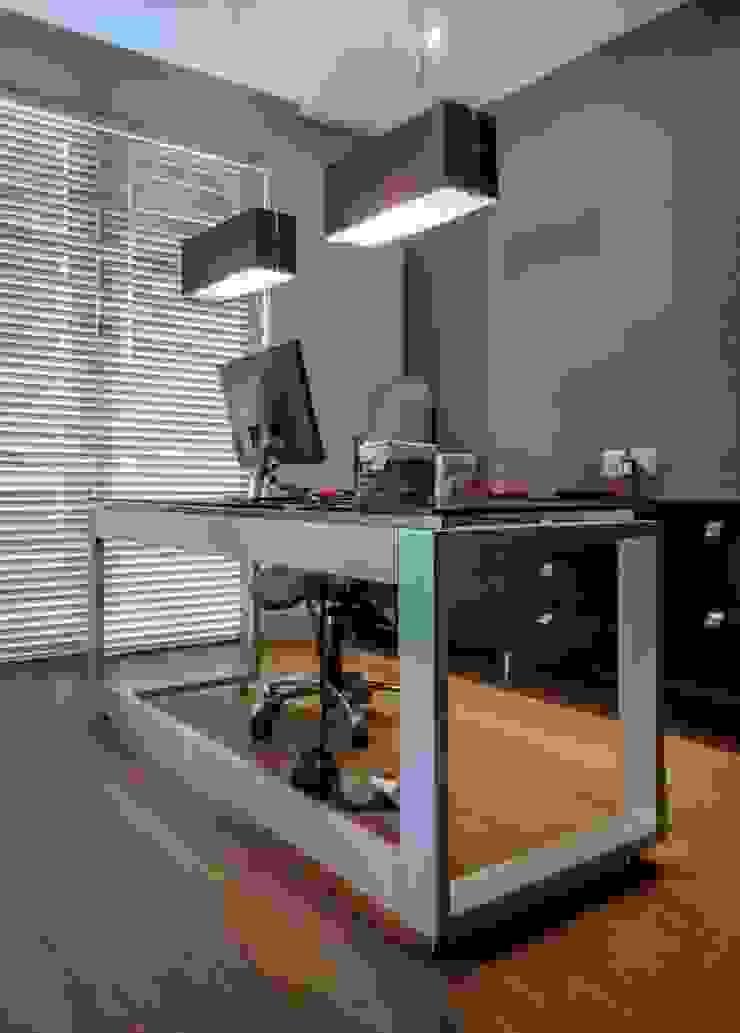 Study Desk 2 by WHO DID IT Modern MDF