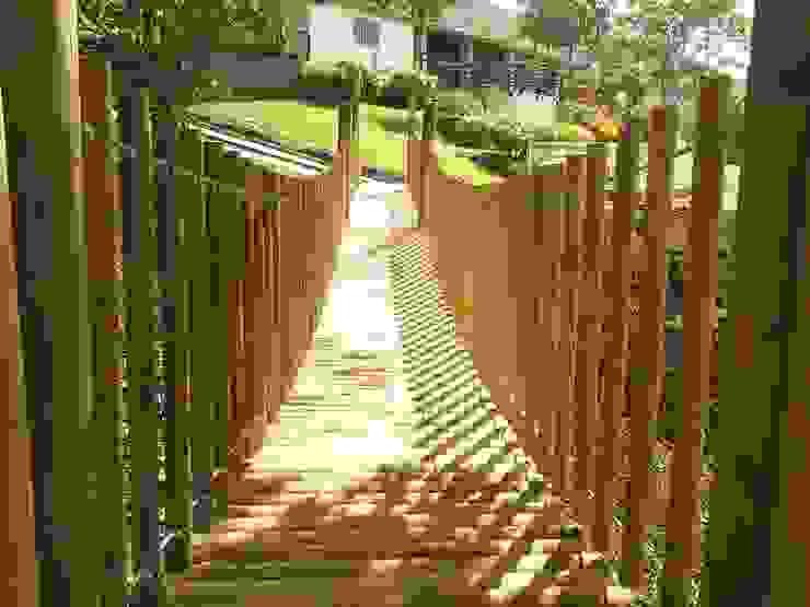 Cabañas Ecologicas: Casas de estilo  por palma y madera.com,