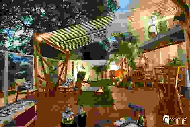 Garten von GOMA Arquitetura