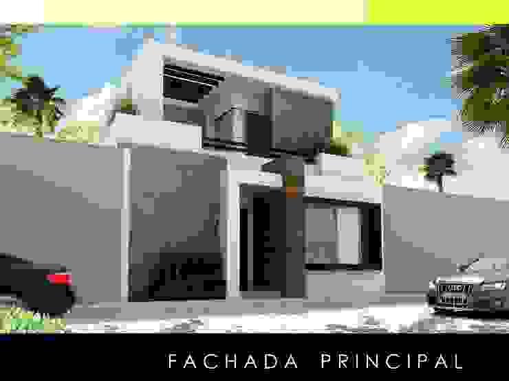 Proyecto ASE 5a Casas modernas de Mstudio Arquitectura+Construccion Moderno