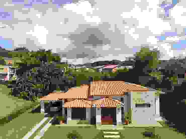 Casa Prefabricada en concreto. Casas de estilo rural de PREFABRICASA Rural