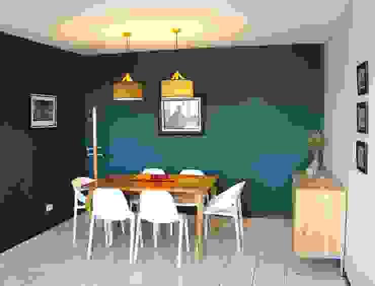 Modern dining room by Médula Diseño de Interiores Modern
