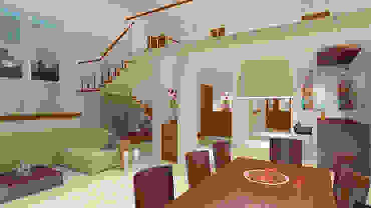CouturierStudio Salas de jantar minimalistas
