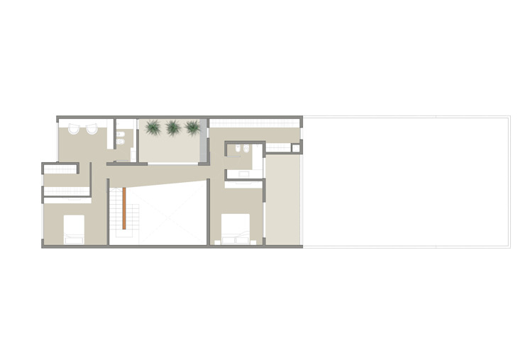 Casa Pellegrini Dormitorios modernos: Ideas, imágenes y decoración de Articular Arquitectura Moderno