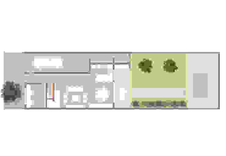 Casa Pellegrini Casas modernas: Ideas, imágenes y decoración de Articular Arquitectura Moderno