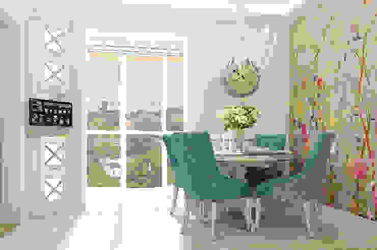 Vera Rybchenko Mediterranean style kitchen Turquoise
