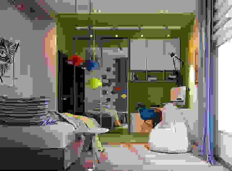 Vera Rybchenko Modern nursery/kids room Blue