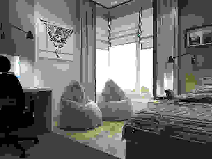Vera Rybchenko Modern nursery/kids room Grey