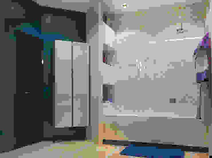 Vera Rybchenko Modern bathroom Blue