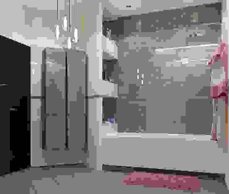 Vera Rybchenko Modern bathroom Beige