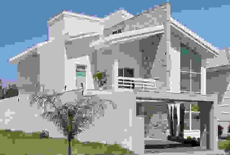 Casas estilo moderno: ideas, arquitectura e imágenes de Virna Carvalho Arquiteta Moderno