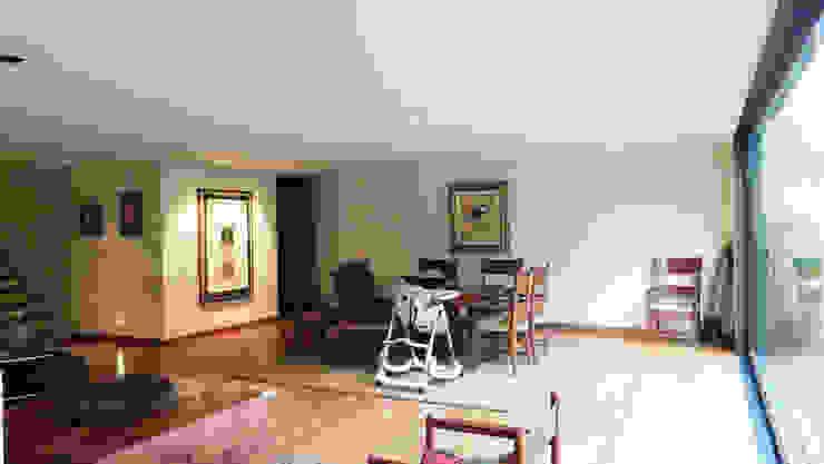Casa Bosques Salones modernos de Taller Plan A Moderno