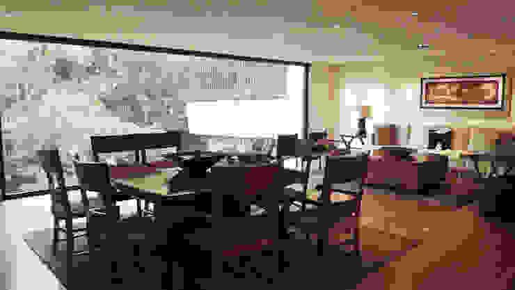 Casa Bosques Comedores modernos de Taller Plan A Moderno