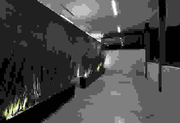 P49 Pasillos, vestíbulos y escaleras modernos de Taller Plan A Moderno
