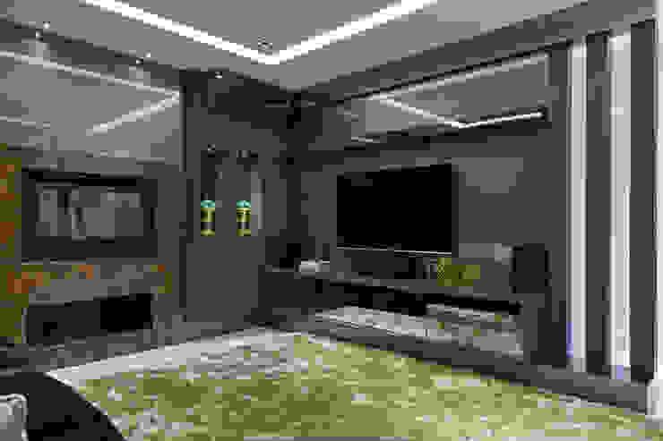 Sala de Multimidia Salas multimídia modernas por ANDRÉ PACHECO ARQUITETURA Moderno