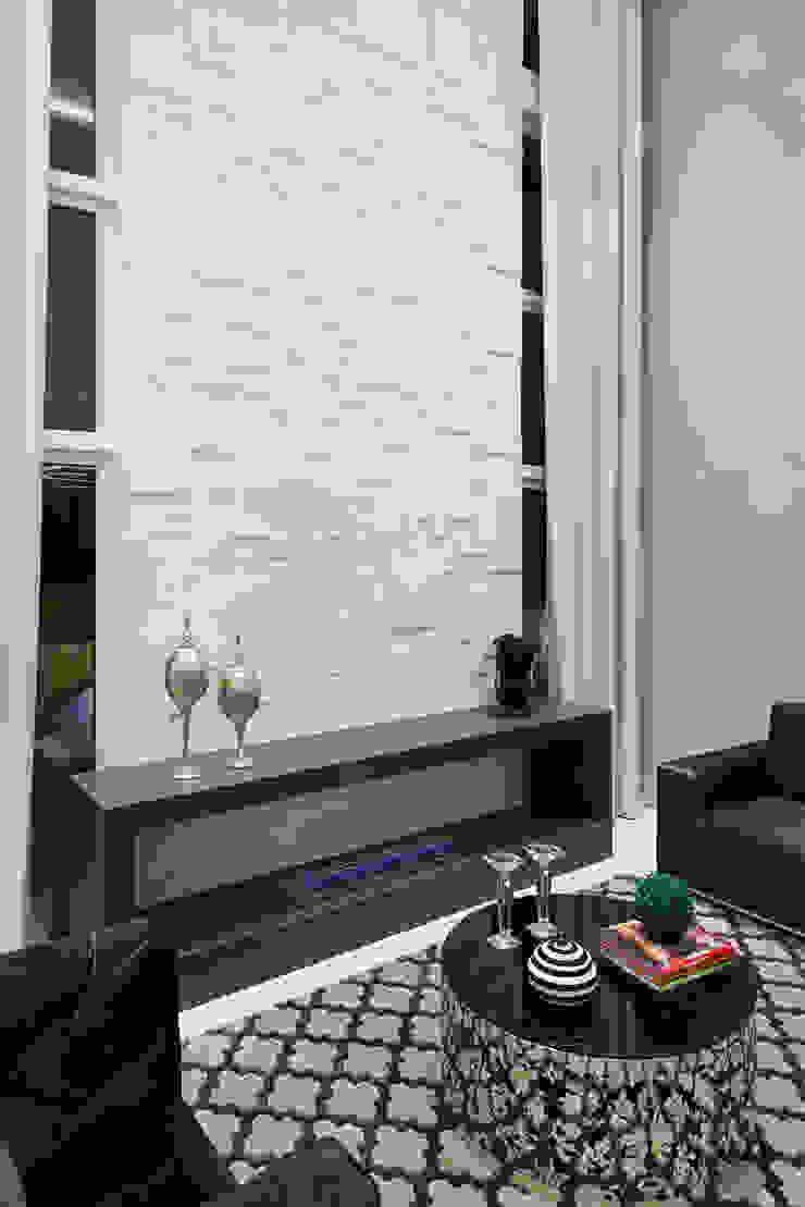 sala de estar social Salas de estar modernas por ANDRÉ PACHECO ARQUITETURA Moderno