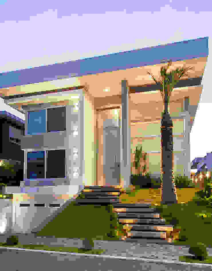 Residência N+C Casas modernas por ANDRÉ PACHECO ARQUITETURA Moderno