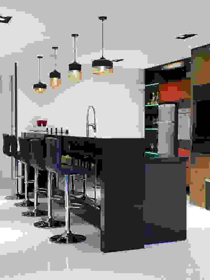 Gourmet Cozinhas modernas por ANDRÉ PACHECO ARQUITETURA Moderno