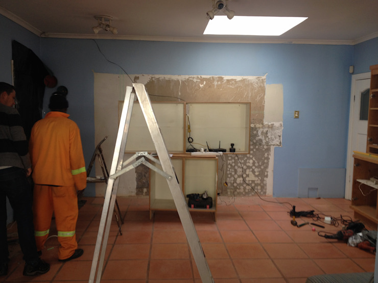 During: Removal. by Boss Custom Kitchens (PTY)LTD