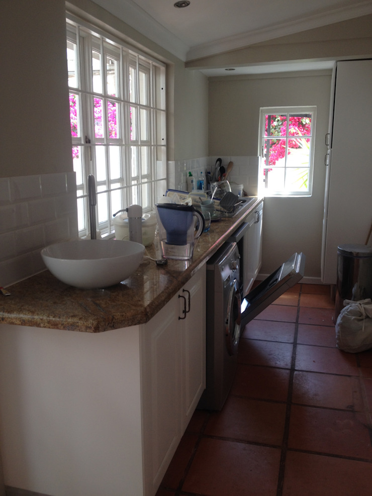 After: View towards scullery area. by Boss Custom Kitchens (PTY)LTD