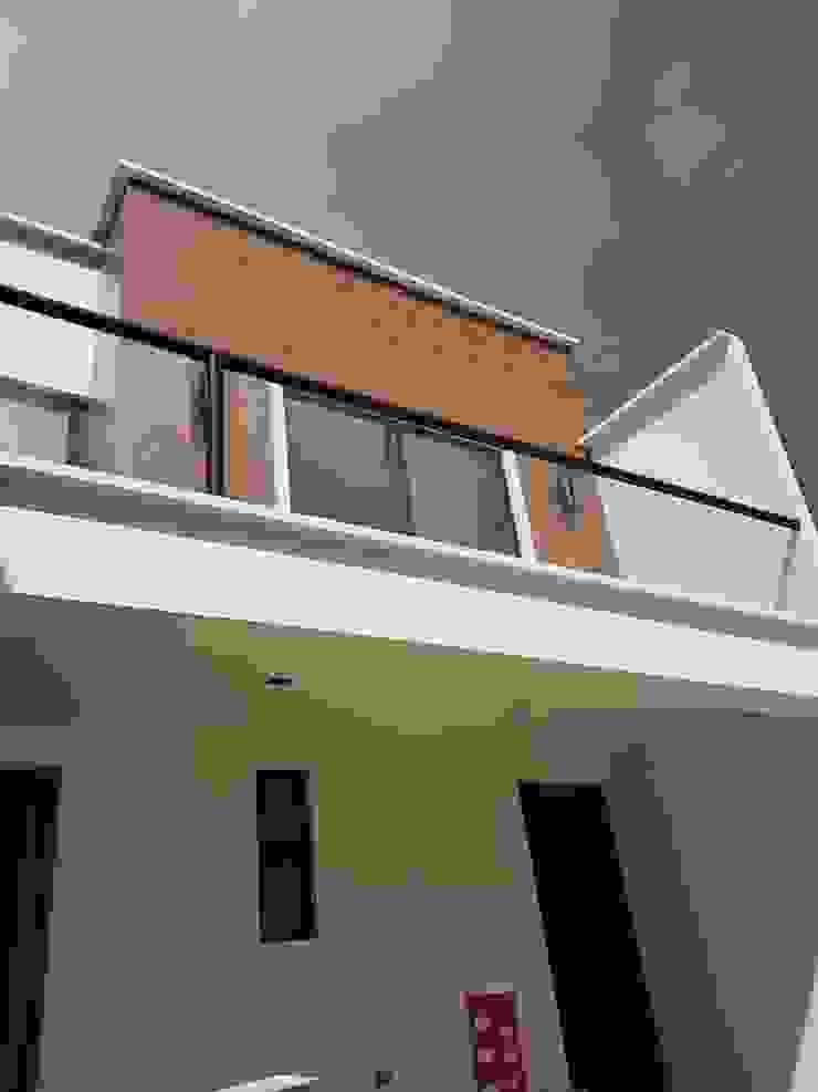 casa.xalapa Casas minimalistas de bmas arquitectura Minimalista Cerámico
