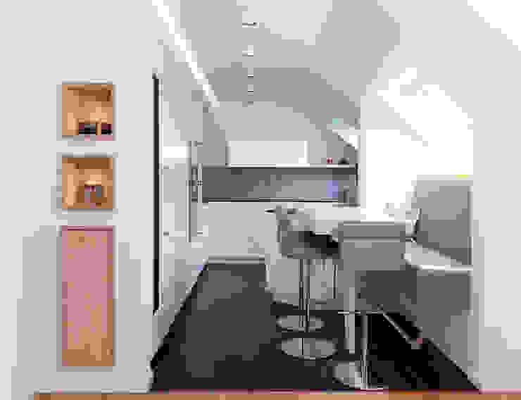 مطبخ تنفيذ Klocke Möbelwerkstätte GmbH, حداثي