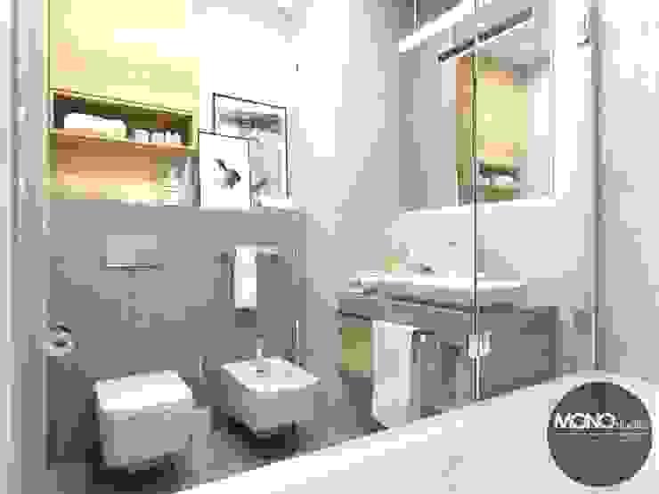ห้องน้ำ โดย MONOstudio,