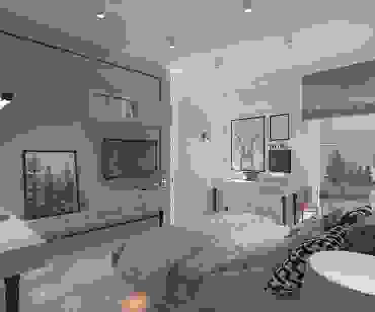 Modern style bedroom by living box Modern