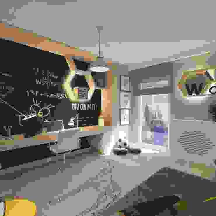 Modern nursery/kids room by living box Modern