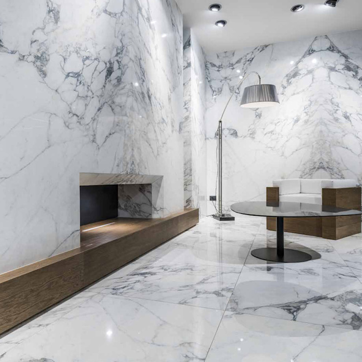 Paredes de estilo  por Tile Supply Solutions Ltd,