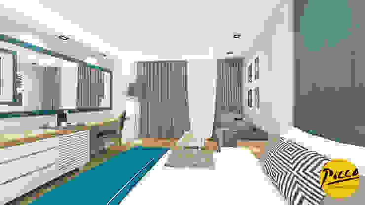 Pıcco Desıgn & Archıtecture Dormitorios de estilo mediterráneo