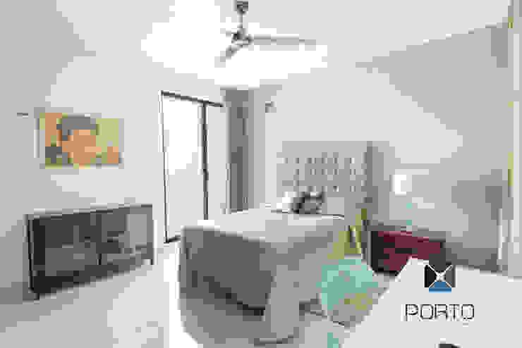 Bedroom by PORTO Arquitectura + Diseño de Interiores, Eclectic