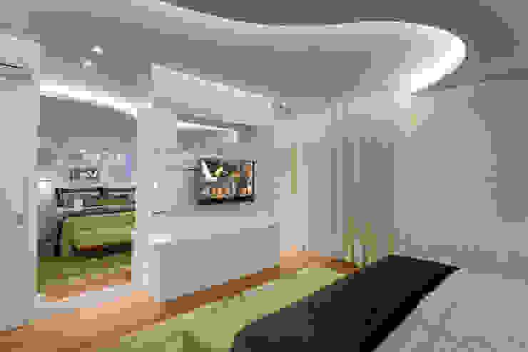 Camera da letto moderna di Arquiteto Aquiles Nícolas Kílaris Moderno