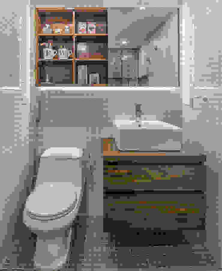 Apartamento F Modern Bathroom by CENTRAL ARQUITECTURA Modern