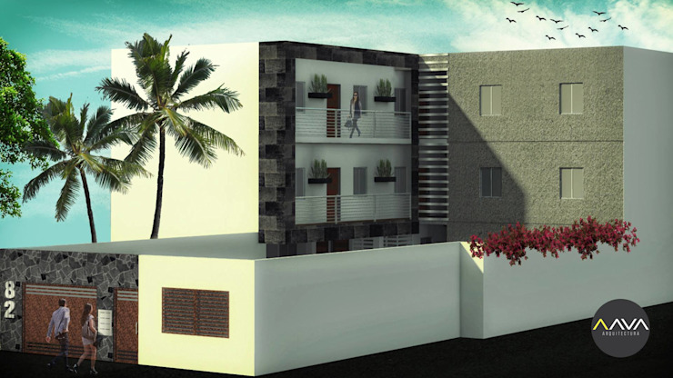 modern  by AAVA Arquitectura, Modern