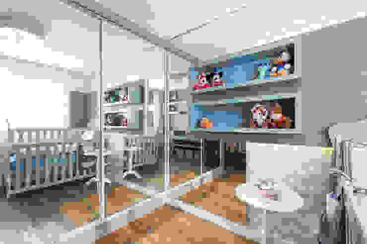 Dormitorios infantiles de estilo  de Aline Dal Pizzol Aquitetura de Interiores, Moderno