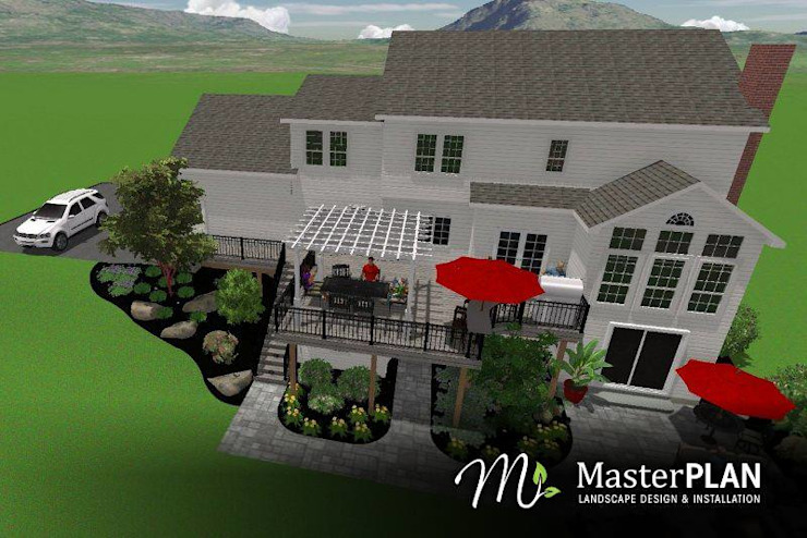 3D Rendering by MasterPLAN Outdoor Living