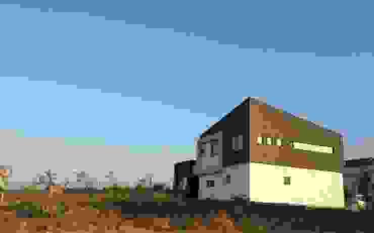 도련동 단독주택 모던스타일 주택 by 건축사사무소 사이 모던 금속