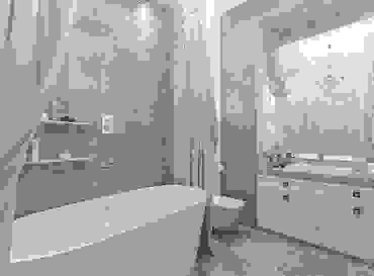 ห้องน้ำ โดย Студия интерьера Дениса Серова,