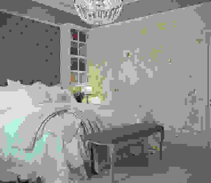 Phòng ngủ phong cách đồng quê bởi Студия интерьера Дениса Серова Đồng quê
